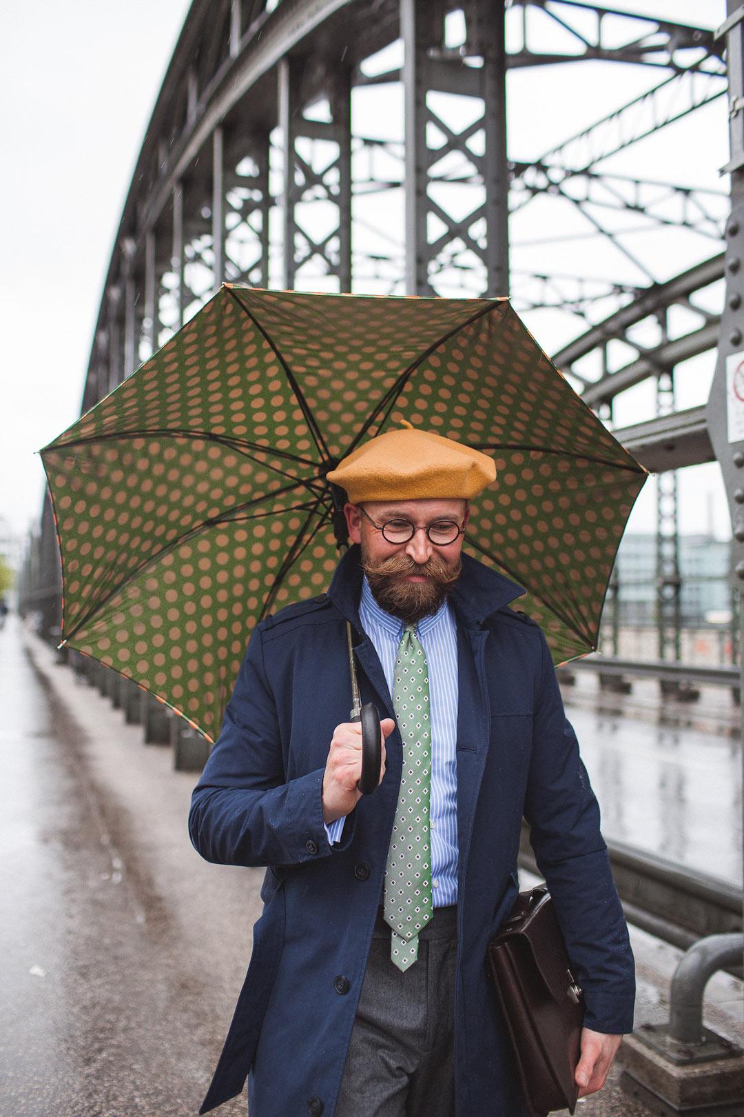 Why do I love to carry an umbrella?